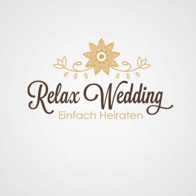 DesignZoo Logos Relax Wedding