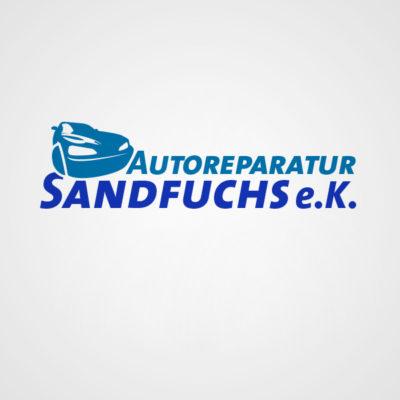 DesignZoo Logos Autoreparatur Sandfuchs