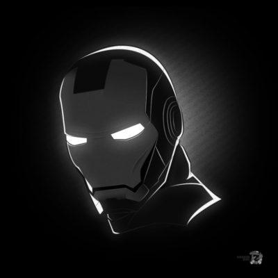 Noir Masks - Iron Man