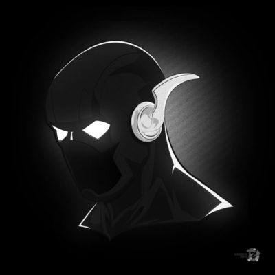 Noir Masks - The Flash