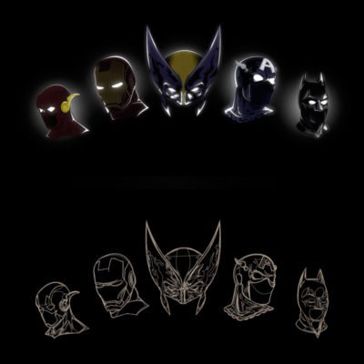 overview and pathview of all masks and