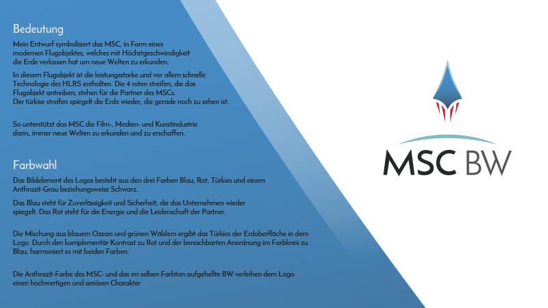 DesignZoo MSCBW Logo development presentation