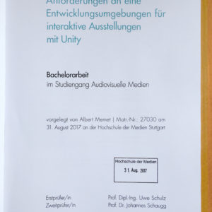 bachelor thesis zweitprüfer