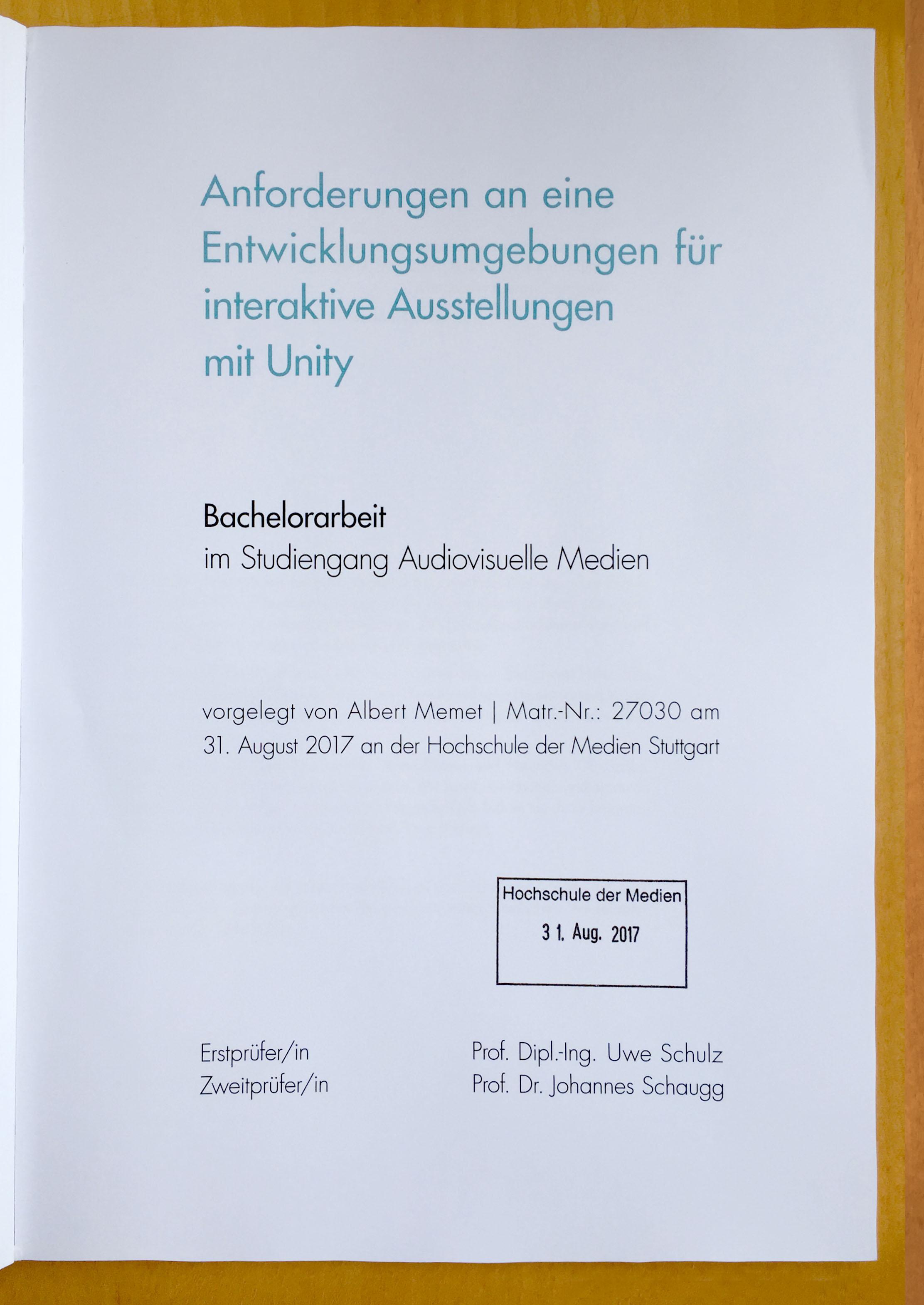 Bachelor thesis mobile payment