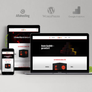 Buffire Website – concept, development, design and execution