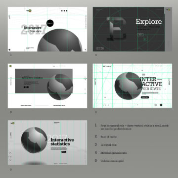 Starting a new personal project – 1. basic composition and visual design