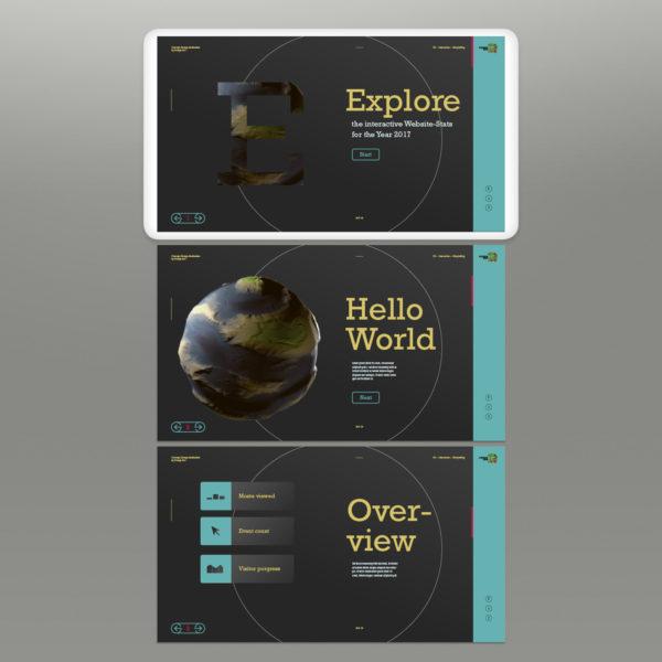 DZ-Interactive Analytics – Screendesign Version 2
